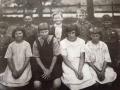 1925 unknown, Neil Perry , Harry Bradley, Murray Waddell, Lyoyd Perry, Bessie Black, Elma Henstock, Doree Hancock, Sadie Henstock (1024x757)