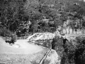 c1930 Galston Gorge where concrete bridge is now (this bridge got washed away in the floods)