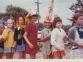1973 Easter Bonnet parade with year 2 girls (1024x690)