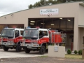 Arcadia Rural Fire Service station & vehciles 2012